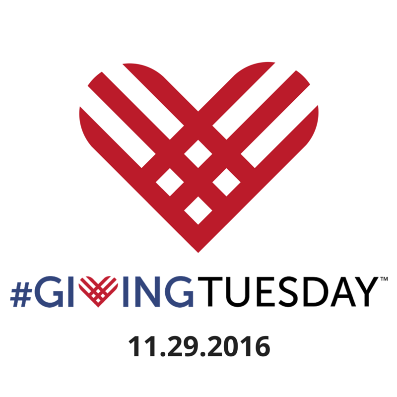 Giving Tuesday is November 29, 2016.