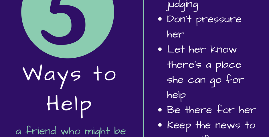 5 ways to help a friend
