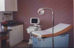 First ultrasound room