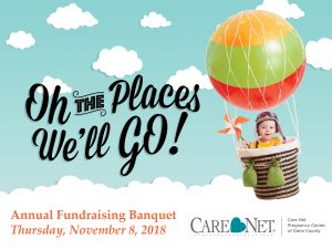 Fundraising Banquet 2018 -- Oh the Places We'll Go